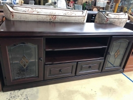 Lead light sideboard