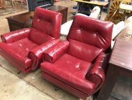 Retro Swivel Armchair