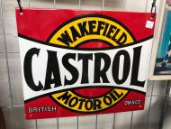 Castrol sign -