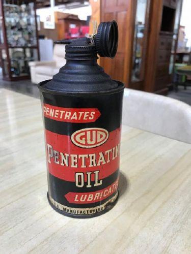 Rare GUD Penetrating Oil Tin