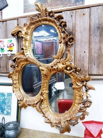 Silik 3 panel mirror