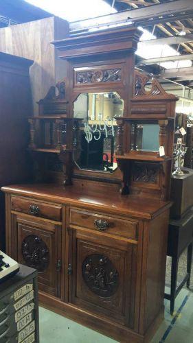 Late 1800s Cedar Sideboard