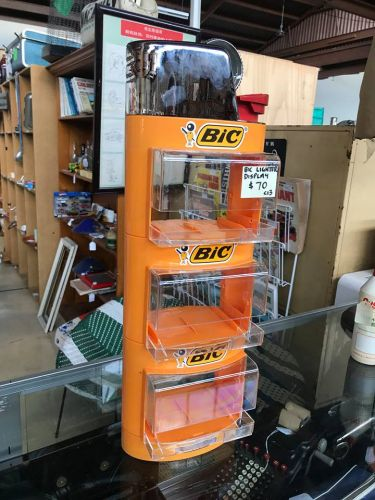Large Bic Lighter Display Unit