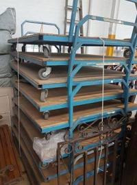 Large Industrial trolleys