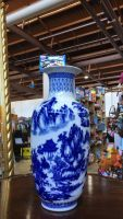 Chinese blue and white Vase republic of China