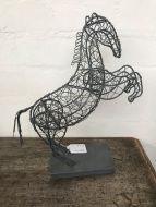 Wire Horse Figure