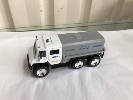 Sonic Landmaster Diecast models - Blue and White