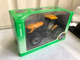 1:30 Tractor diecast model Free Wheel - Yellow