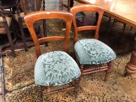 Wingback Beechwood Chairs