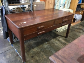 Vintage draftsman table