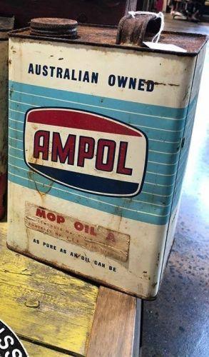 Vintage Ampol Tin