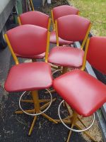 Vintage Bar Stools -Sold as per each