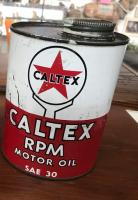 Castrol RPM oil Tin