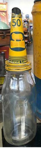 Golden Fleece Tin Top & Bottle